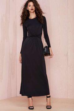 Nasty Gal Swerve Dress #Nasty-Gal #LBD