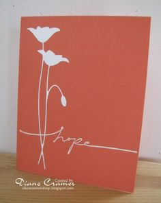 Poppy for hope by fionna51 - Cards and Paper Crafts at Splitcoaststampers