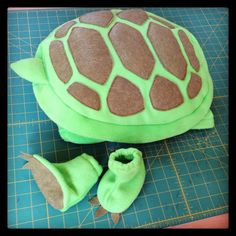 Halloween Costume Ready to Ship Baby Turtle by HopTo on Etsy