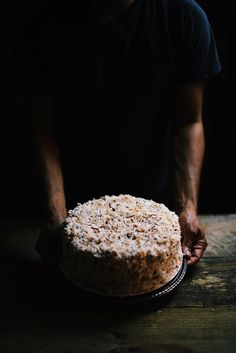 Cardamom and toasted Coconut Cake   A Brown Table