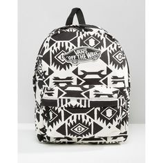 324174430cde3 Vans Realm Monochrome Backpack ( 63) ❤ liked on Polyvore featuring bags