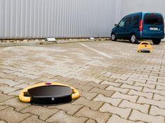 Lescars Automatische Solar Parkplatzsperre mit Fernbedienung - Auto Tisch / taSCHenlampe