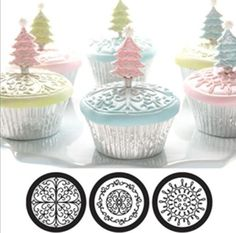 Cupcake and Cookie Texture Tops in Scroll * Continue to the product at the image link.(This is an Amazon affiliate link)