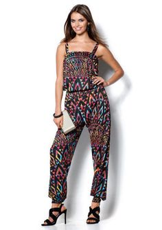 Overal s potlačou Jumpsuit, Dresses, Style, Fashion, Summer Dresses, Overalls, Vestidos, Swag, Moda
