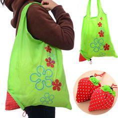 """Многоразовая сумка для покупок из нейлона """"Клубничка"""" http://ali.pub/7q9tm"""