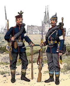 franco prussian war uniforms - Google Search
