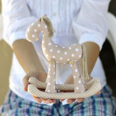 Rocking Horse PDF Sewing Pattern