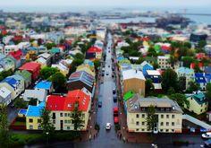 Reykjavík, seen from top of Hallgrímskirkja - Iceland Series by Bharat Rao, via 500px