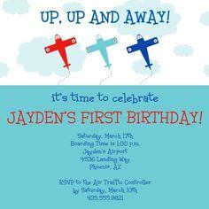 Birthday TakeOff - simplytoimpress.com