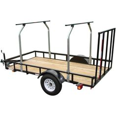 5 X 8 Utility Trailer Converted Into Trailer To Haul
