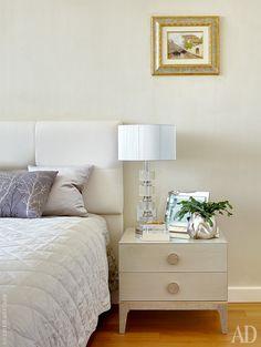 Прикроватные тумбы, Malerba, коллекция M Place, изголовье кровати выполнено на заказ.