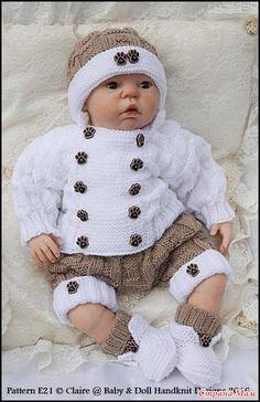 Для самых маленьких (мальчикам). - Вязание для детей - Страна Мам Baby Born Clothes, Baby Knitting Patterns, Little Boys, Baby Room, Baby Dolls, Crochet Hats, Projects, Crochet Baby Clothes, Pregnancy