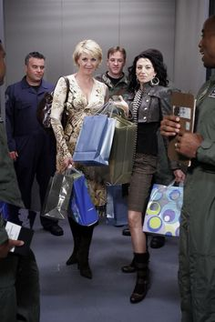 Posted by SF Series and Movies  Stargate SG1 Ladies