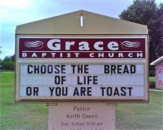 Funny Church Signs or Just Holy Smoke?