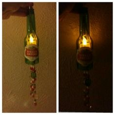 Stella Artois beer bottle light. ..