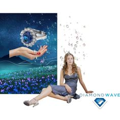 """Diamond showers"" by maria-kuroshchepova on Polyvore"