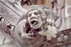 Dark Roasted Blend: Gargoyles & Grotesques, Part 1 Westminster Abbey in London: