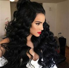Rabake Brazilian Body Wave Hair 3 Bundles With Closure Grade Brazilian Virgin Hair Wavy Human Hair Bundles With off promotion factory cheap price,DHL worldwide shipping, store coupon available. Remy Human Hair, Human Hair Extensions, Human Hair Wigs, Remy Hair, Weave Extensions, Brazilian Hair Bundles, Brazilian Hair Weave, Loose Curls Hairstyles, Weave Hairstyles