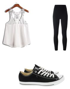 """First summer outfit"" by cbr-style on Polyvore featuring adidas Originals and Converse"
