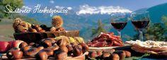 Der Herbst in Südtirol zeigt die Region von ihrer wohl schönsten Seite. Herbstzeit in Südtirol ist Törggelenzeit. Genießen Sie im Hotel ein spezielles Törggelenmenü und lassen Sie sich dazu ein Glas Törggelen Wein schmecken. 3 o. 7 Nächte im 4* Hotel in Völs am Schlern.