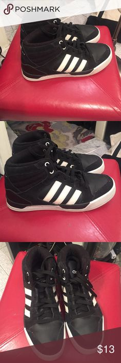 adidas NEO high top sneakers adidas NEO high top sneakers, worn a few times, size 7 men's adidas Shoes Sneakers