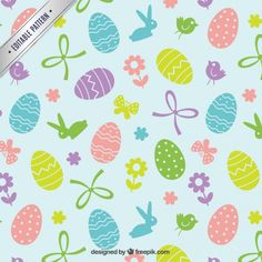 Great For The Easter Holiday This Printable Border Shows An