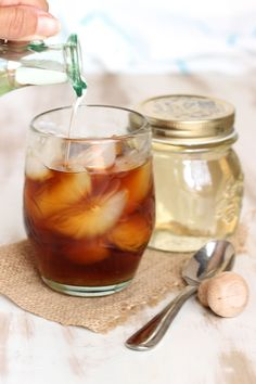 Easy to make and super versatile in all cool drink recipes, this Simple Syrup is ready in minutes using two ingredients. Perfect in the best cocktails! Cocktail Party Food, Cocktail Desserts, Easy Cocktails, Cocktail Recipes, Make Simple Syrup, Make It Simple, Sangria Recipes, Drink Recipes, Salted Caramel Brownies