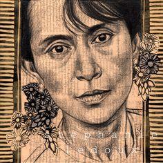 Les carnets de voyage de Stéphanie Ledoux: La dame de Rangoon - Birmanie