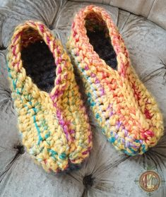 Ugly Slippers Crochet Pattern  Mad Mad me