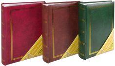 Fotoalbum B 10x15/200M Classic , erinevad värvid: punane, pruun