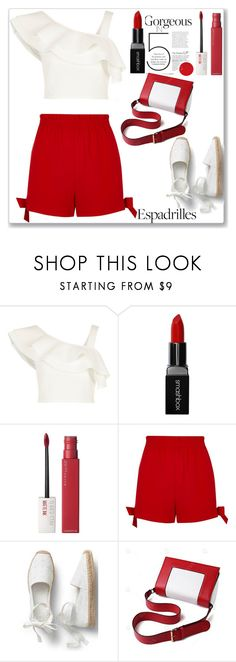 """""""Summer Style"""" by sparklemeetsclassic ❤ liked on Polyvore featuring River Island, Smashbox and Maybelline"""