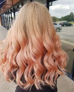 Pin for Later: Hair Color Commitment-Phobes Will Obsess Over the Rose Gold Ombré Trend