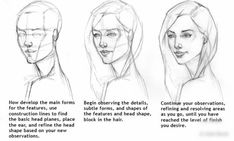 Comic art reference - drawing the head - Character Design Cartoon, Character Design References, Best Marvel Characters, Female Face Drawing, Pin Up, Cute Girl Drawing, Drawing Tips, Drawing Ideas, Sketch Drawing