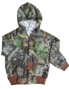 Kids Camoflauge Sweat Jacket