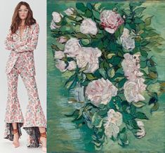 art and fashion Kimora Lee Simmons, Paris Jackson, Classic Paintings, Mark Rothko, Lily Collins, Fashion Images, Mother Pearl, Vincent Van Gogh, Famous Artists