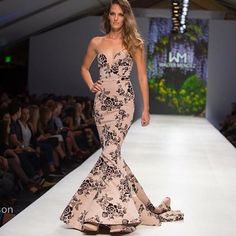 One of my favorites from the show!!! Photo by Hal Harrison #fashionxt #waltermendez #fashion #iwant #portlandoregon