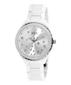 This Jivago Silver Sky Jivago Watch by Jivago is perfect! #zulilyfinds