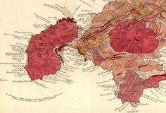 George Bellas Greenhough map of Land's End