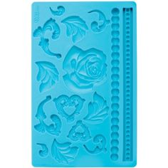 Wilton Fondant and Gum Paste Silicone Mold Baroque- Discontinued By Manufacturer