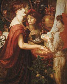 The Beautiful Hand ~ Dante Gabriel Rossetti ~ (English: 1828-1882)
