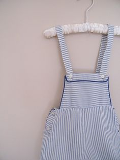 Vintage Baby Overalls Shorts