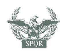 Roman Symbols | Roman Eagle SPQR by crazyYoda