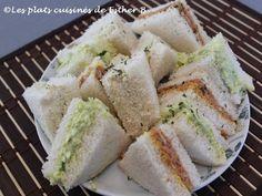 Les plats cuisinés de Esther B: Sandwichs variés (à congeler)
