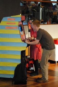 Hide & Seek - Arcade, from the London Hackspace