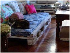 30 εκπληκτικοί καναπέδες απο παλέτες!