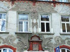 Art Nouveau reliefs in Bydgoszcz