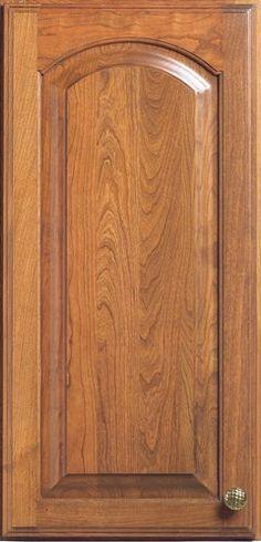 Door Styles: Cherry Summit Arch - Visit Showroom in Columbus Ohio - Kitchen Kraft Inc, Kitchen Cabinets Remodeling. - Door Style : Summit Arch  Door Type : Raised Panel  Finish : 525, Canyon  Material : Cherry
