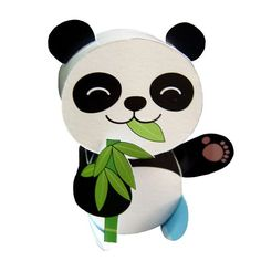 Papercraft postcart panda Panda Bear, Yoshi, Bears, Mickey Mouse, Disney Characters, Fictional Characters, Shop, Prints, Design