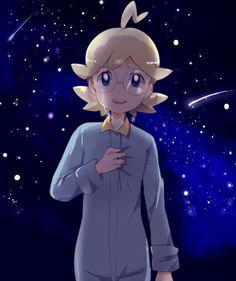 Clemont♥ This picture is beautiful ^^