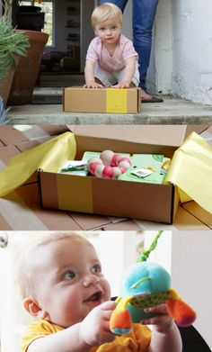 Monthly box of products for your little one from Citrus Lane